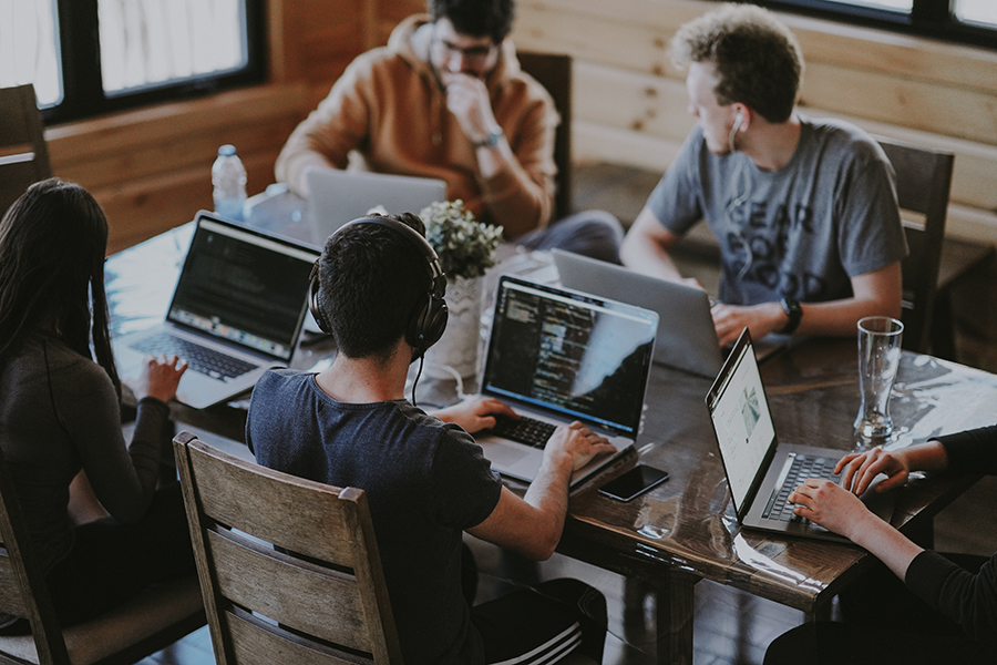Projet numérique en groupe : le passeport de compétences numériques