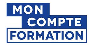Logo de la plateforme Mon Compte Formation, pour que chaque actif puisse utiliser son CPF et suivre une formation chez modula formation